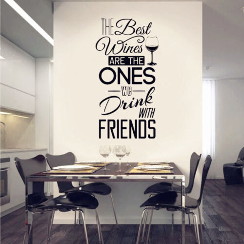 Removable Kitchen Quotes Wall Decal Vinyl Wall Sticker Wall Art Mural Home Decor
