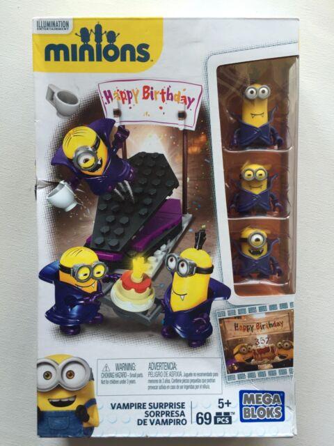 "Mega Bloks Minions ""Happy Birthday"" Vampire Surprise Set CNF55"