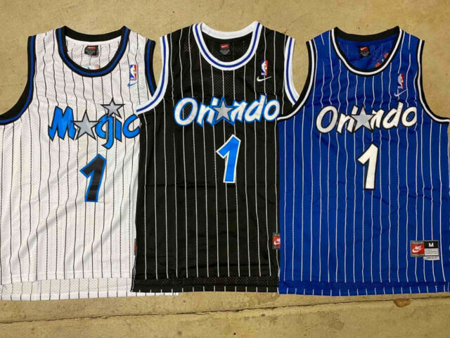 Tracy Mcgrady Orlando Magic Adidas Nba Throwback Swingman Jersey Blue L For Sale Online Ebay