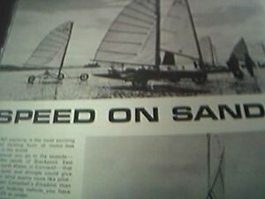 book article 1966  sand yachting yacht racing cornwall lytham st annes ian dibd - Leicester, United Kingdom - book article 1966  sand yachting yacht racing cornwall lytham st annes ian dibd - Leicester, United Kingdom