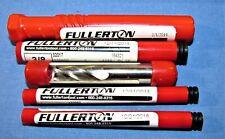 New Fullerton Carbide End Mill Lot Qty5 Read Description