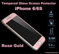 Full Screen Coverage Tempered Glass Screen Protector For iPhone 6/6S ROSE GOLD