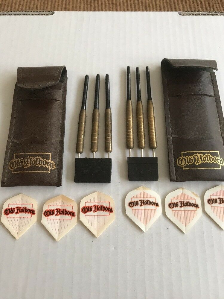 2 x RARE SETS OF OLD HOLBORN DARTS 1970'S