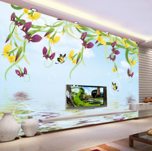 3D Multicolord 417 Wallpaper Murals Wall Print Wallpaper Mural AJ WALL UK Kyra