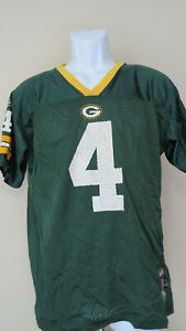Vintage-YOUTH-BRETT-FAVRE-GREEN-BAY-PACKERS-JERSEY-4-NFL-90s-Reebok