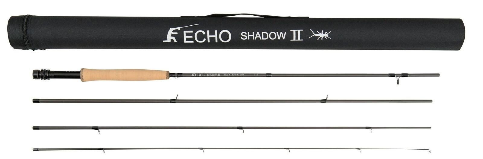 Echo Shadow II 2100 Fly Rod   2wt 10'0