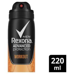 Rexona Men Aerosol Advanced Workout Antiperspirant Deodorant 220 ml