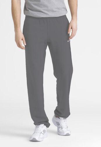 Champion Closed Hem Mens Joggers Gym Training SweatPants Grey