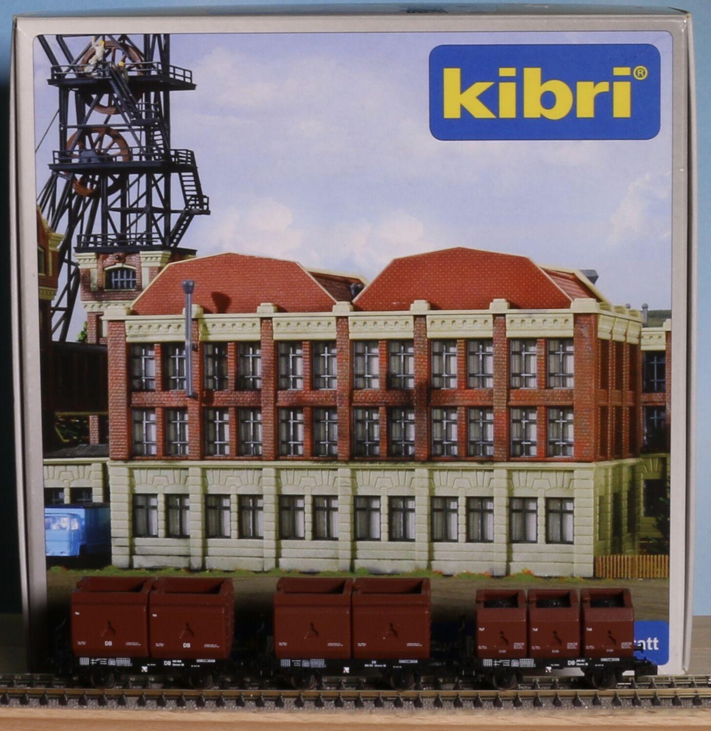 Kibri 37230, Traccia N, KIT miniere gestione e 3 NME coke Carrello portavasi, ep. 3