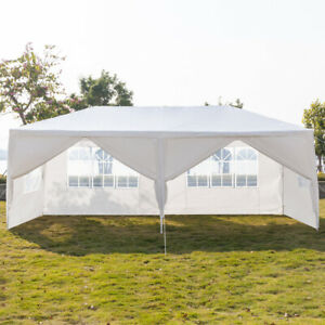 10X20-Feet-Pop-Up-Canopy-Instant-Tent-6-Removable-Side-walls-Patio-Event-Gazebo