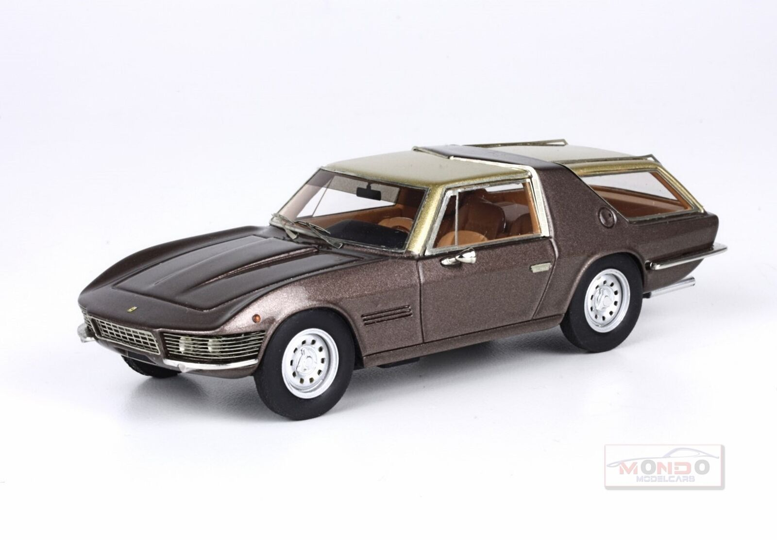 Ferrari 330Gt 2+2 Station Wagon 1977 marrón Met oro BBR 1 43 BBR178E