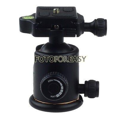 8KG Swivel DSLR Camera Tripod BallHead w/ Quick Release Plate Photo Video Studio