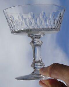 Baccarat - Coupe à champagne en cristal taillé, modèle Champigny (3 ...