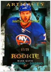 UD-ARTIFACTS-2011-MARK-KATIC-NHL-RC-NEW-YORK-ISLANDERS-177-RARE-ROOKIE-25