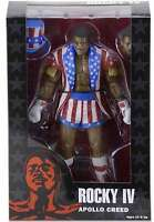 Apollo Creed Uncle Sam Action Figure NECA Rocky 40th Anniversary Series 2