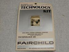 Fairchild Solid State Technology Kit Mpsa20 Original Packaging
