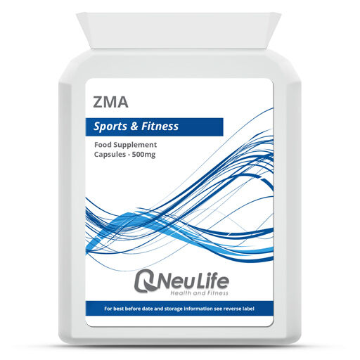ZMA - 500mg Choose Qty: 60|90|120|240|360
