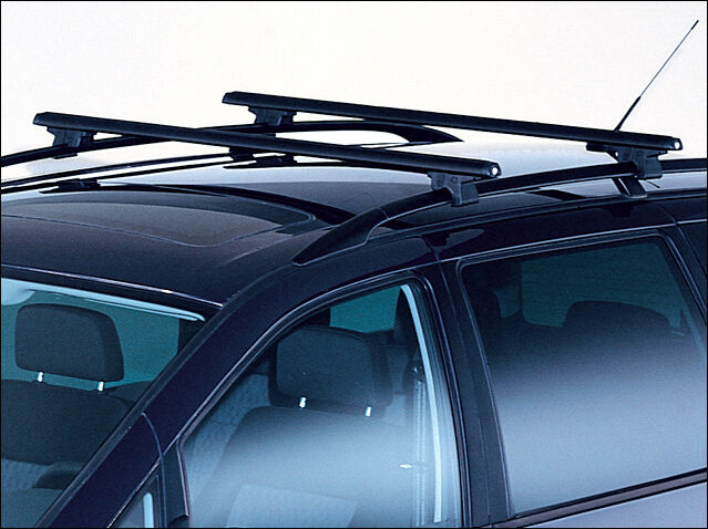 CAR ROOF RACK BOX BARS SET UNIVERSAL FOR VW SHARAN SEAT ALHAMBRA WITH ROOF RAILS