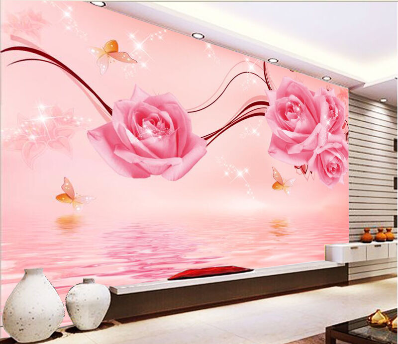 3D Water Butterfly 354 Wall Paper Wall Print Decal Wall Deco Indoor Wall Murals