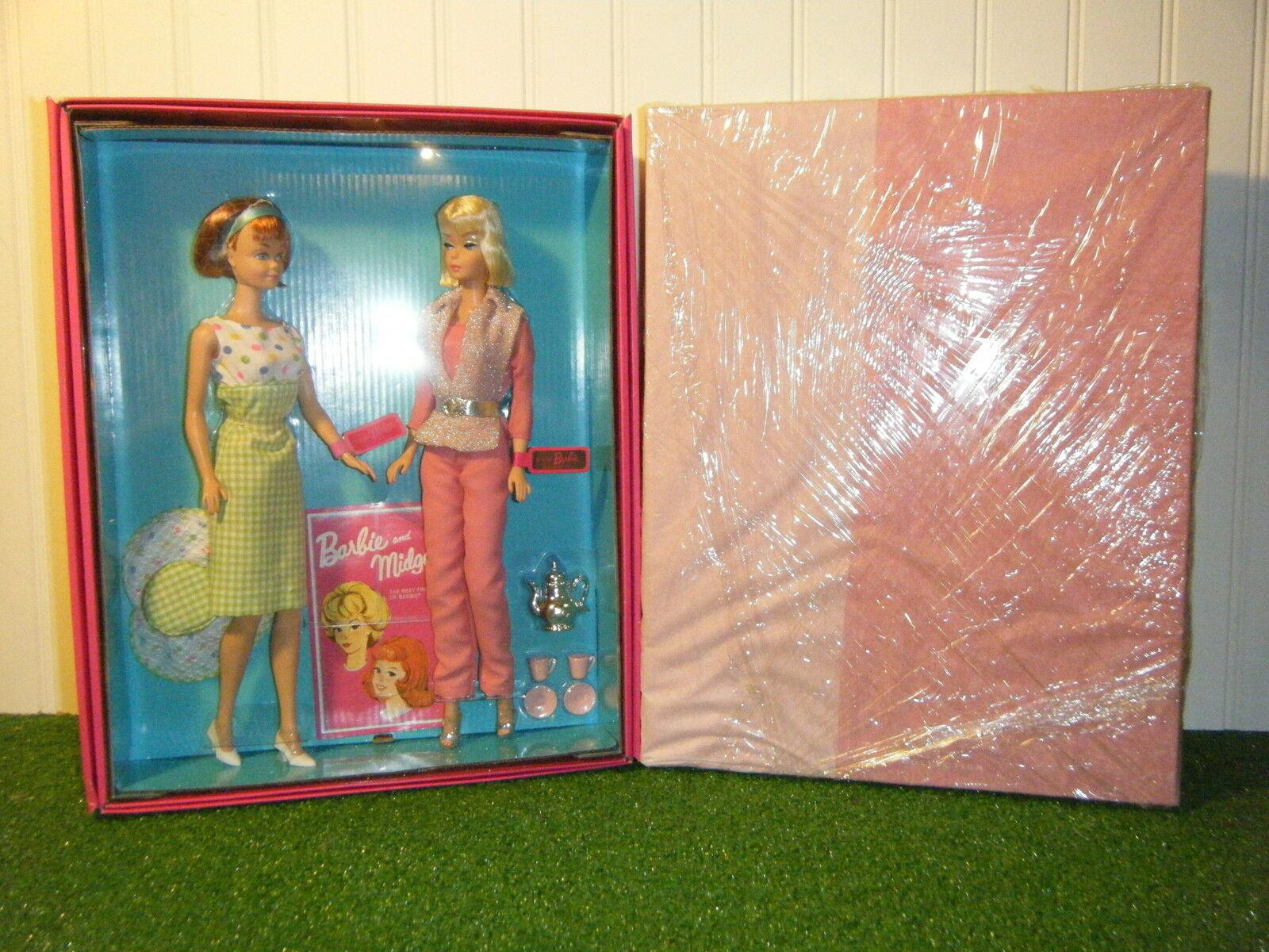 Barbie & a Midge 50th Aniversario Set De Regalo  Nuevo  en la fábrica de tejidos