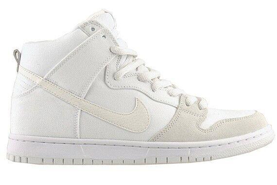 Nike DUNK HIGH PRO 305050-110 SB White Metallic Summit 305050-110 PRO (157) Men's Shoes 641dc2