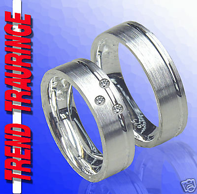 Begeistert Trauringe Verlobungsringe Eheringe Silber &gravur T2-33