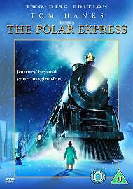 1 of 1 - Polar Express (2005 DVD 2-Disc Set PAL) Tom Hanks // FREE UK P&P