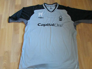 UMBRO-Nottingham-Forest-Football-Capital-One-PF-formation-chemise-adulte-taille-XL