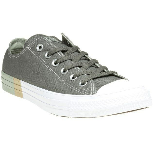 d2423007bd70 Buy Converse Chuck Taylor All Star Ox Mens Khaki Canvas Trainers - 7 UK  online