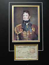 SIR HENRY TORRENS - DISTINGUISHED ARMY OFFICER - SIGNED COLOUR DISPLAY