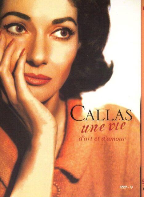 Une Vie D'Art Et D'Amour - Maria Callas DVD