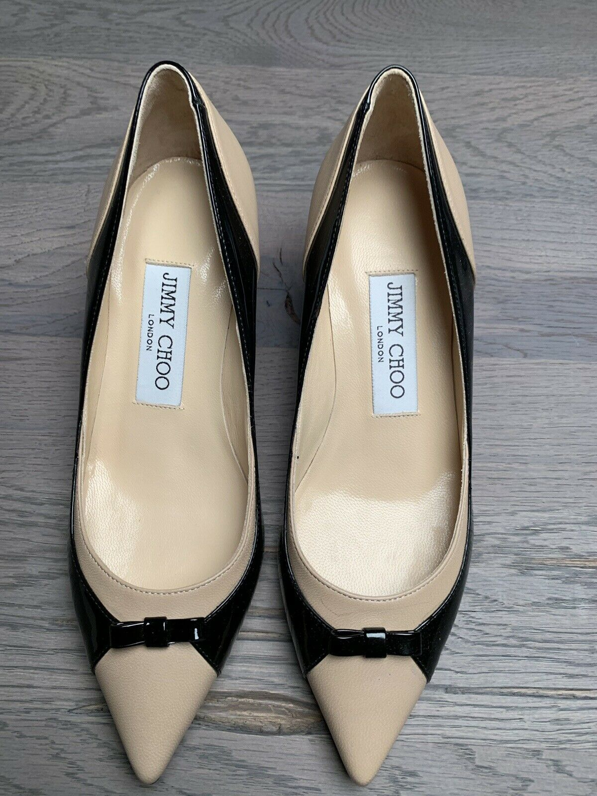 Jimmy Choo London Hazel Toe Pumps Studs Flats Heels Sling shoes shoes NEW 34