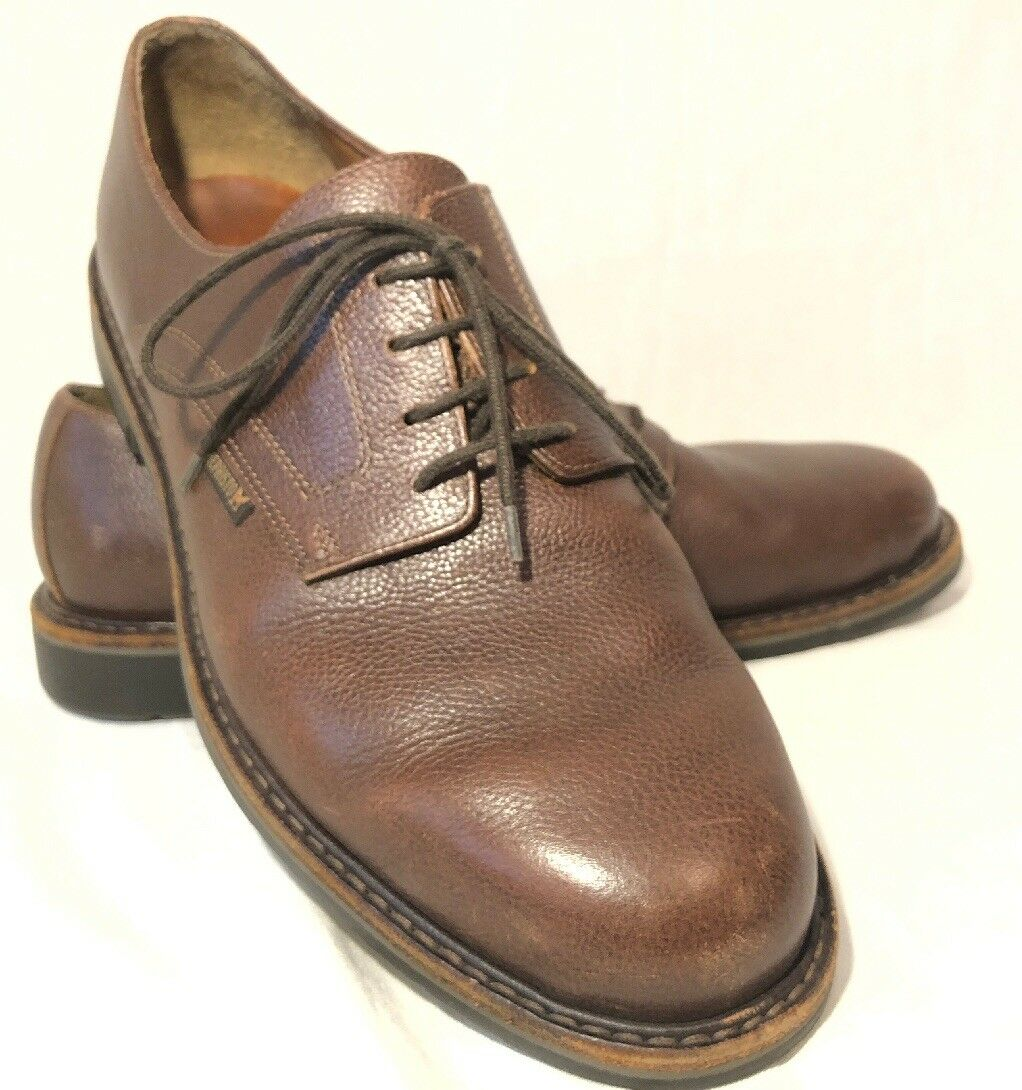 Mephisto Oxfords Brown Leather Men's shoes Size US 10.5  10 0201 31 664