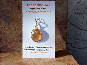 High-Grade-Tangerine-Aura-Quartz-Oval-Pendant-Energize-99-Clarity