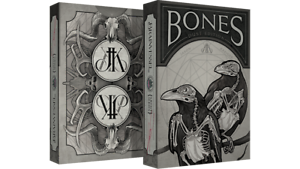 Brand New Playing Cards - Bones (Dust) Playing Cards by Brain Vessel