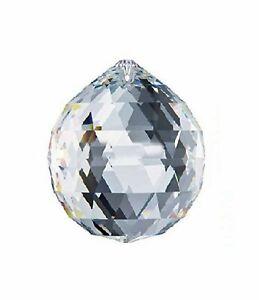 Swarovski-Strass-Crystal-Clear-Charming-Prism-40mm-Ball-Pendant-Rainbow-Maker