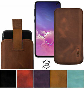 Exclusive-Real-Leather-Pouch-Cover-Slim-Case-For-Samsung-Galaxy-S10e