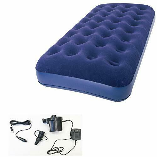 Zaltana Twin Size Air Mattress with Two Way Electric air Pump