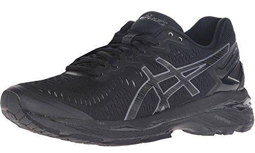the latest c5bdd 4ac91 ASICS Gel-kayano 23 T696n 9099 Women's Black Oynx Athletic Running Shoes 7