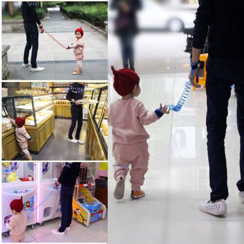 Toddler Baby Kid Safety Harness Hand Belt Anti-lost Walking Strap Wrist Leash GQ