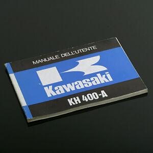 KAWASAKI-400-KH-ITALIAN-OWNER-039-S-MANUAL-NOS