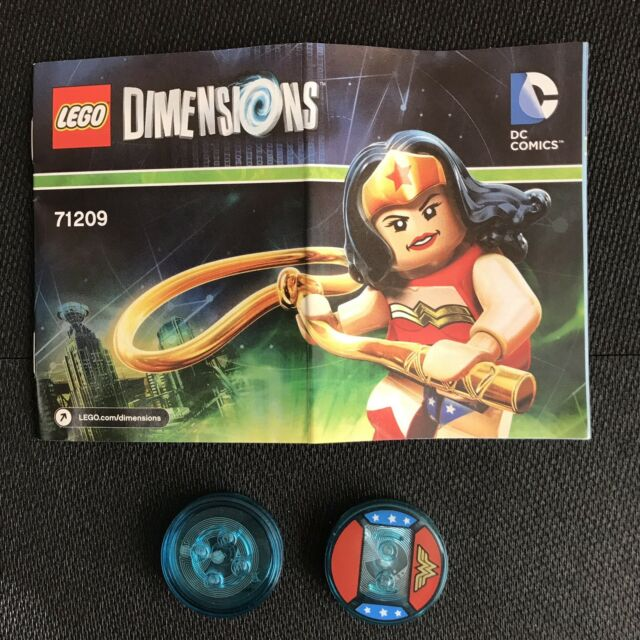 LEGO Dimensions 71209 DC Comics Wonder Woman GAME DISCS ONLY | Ships Free