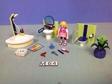 (M64) playmobil salle de bain moderne ref 4285 4279