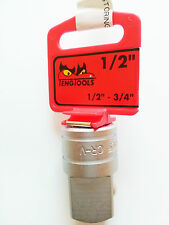 TENG TOOLS 35650209 M120037-C Adattatore Per Bussola 1/2″ femmina: 3/4″ maschio