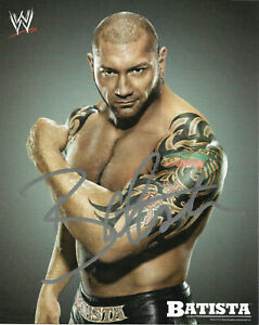 Batista-WWF-WWE-Autographed-Signed-8x10-Photo-REPRINT