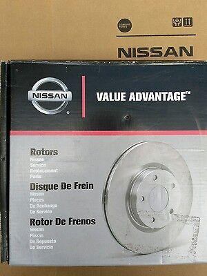 Rear Brake Disc Rotors D3206-9N00JNW GENUINE NEW OEM Nissan Maxima Two 2