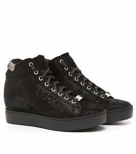 nuovo di zecca cerca le ultime accogliente fresco Details about Liu Jo, Sneakers High, Discount -30%%%%, Black Leather, NEW,  internal wedge.- show original title