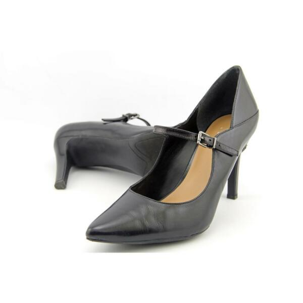 a0946988d76 Franco Sarto Anthem Women US 9.5 Black Mary Janes Pre Owned 1947