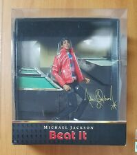 "Michael Jackson Beat It 10"" Action Figure Doll Playmates Toys Bravado 2010 NEW"