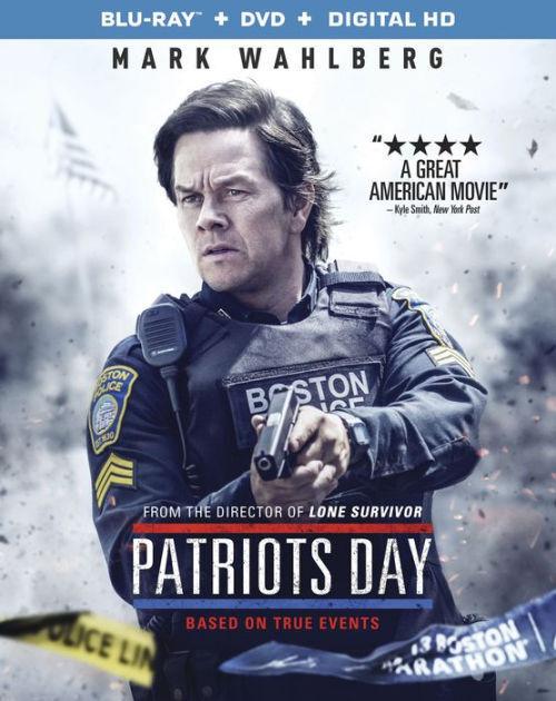 PATRIOTS DÍA (Mark Wahlberg) - BLU-RAY - Región A - Sellado